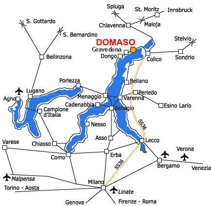 Domaso Lake Como Camping Village Gefara