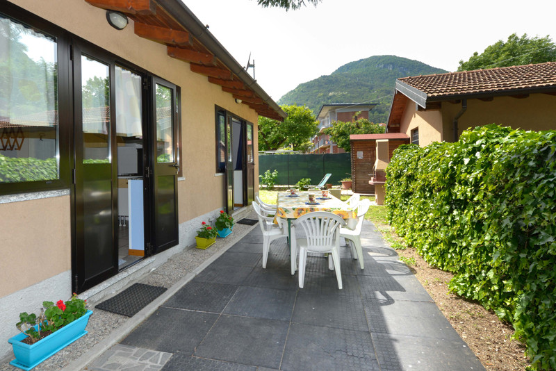 Family Cottage camping gefara domaso lake como